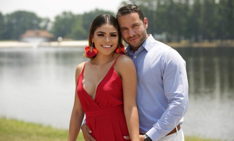 Fernanda and Jonathan on Season 6 of 90 Day Fiance