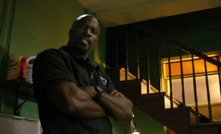 Mike Colter as Luke Cage on the Netflix show