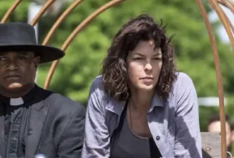Pollyanna McIntosh as Anne on The Walking Dead