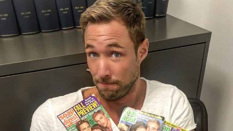Kyle Lowder plays Rex Brady on Days of our Lives