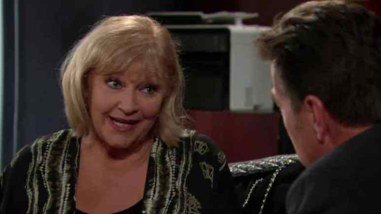 Traci and Jack Abbott on The Young and the Restless