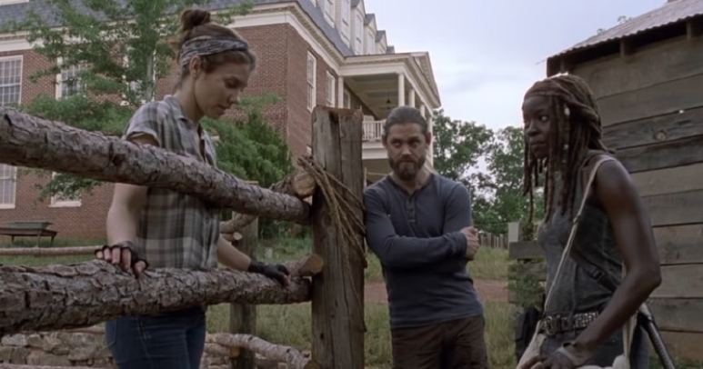 The Walking Dead characters from Season 9 Episode 2