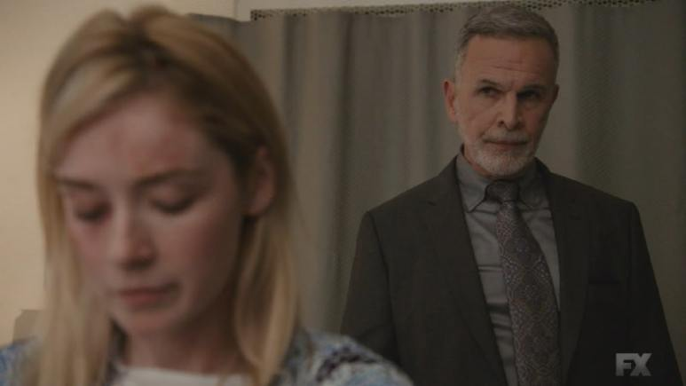 Still Image Mayans M.C. Uch/Opossum. Devante reminds Emily that Miguel needs her in order to be the man he's supposed to be. Pic Credit: FX