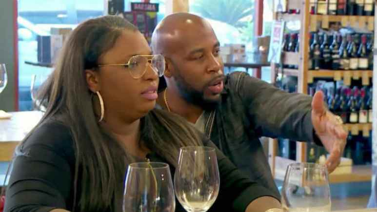 Andrea and Lamar on Love After Lockup