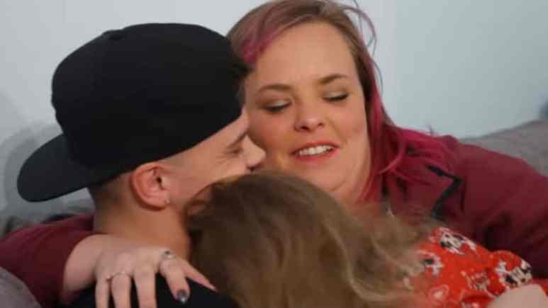 Tyler Baltierra and Catelynn Lowell with their daughter Nova