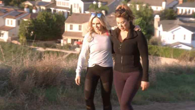 Emily Simpson and Tamra Judge on The Real Housewives of Orange County
