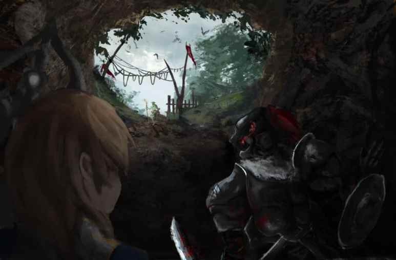 Goblin Slayer Fan Art Cave