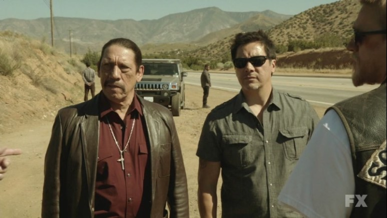 Danny Trejo as Romero 'Romeo' Parada in Sons of Anarchy. Image Credit: FX