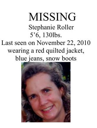 Stephanie missing poster