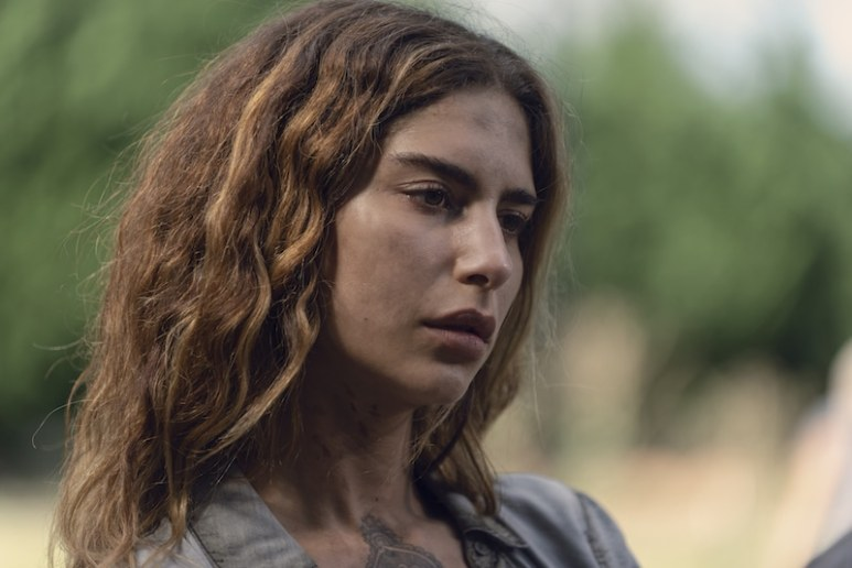 Nadia Hilker as Magna - The Walking Dead _ Season 9, Episode 6 - Photo Credit: Gene Page/AMC