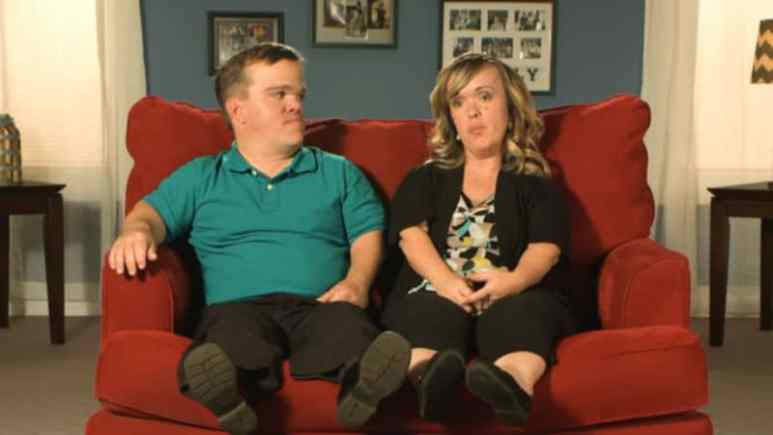 Amber and Trent Johnston from 7 Little Johnstons on TLC