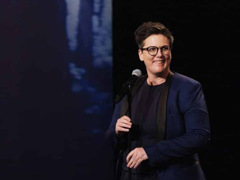 Hannah Gadsby is a Tasmanian with a clear and concise heartfelt message, wrapped in comedy. Pic credit: Netflix