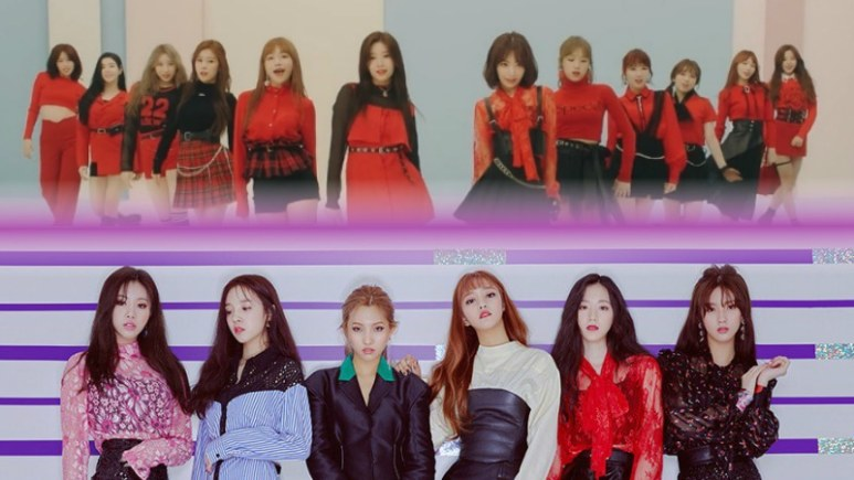IZ*ONE and (G)I-dle
