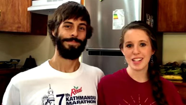 Derick Dillard and Jessa Duggar in a confessional during their mission trip