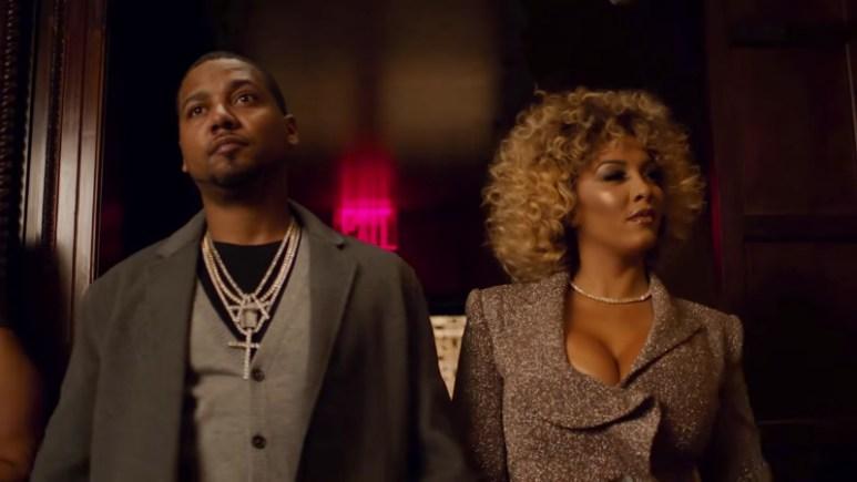 Juelz Santana and Kimbella from the Love & Hip Hop New York intro