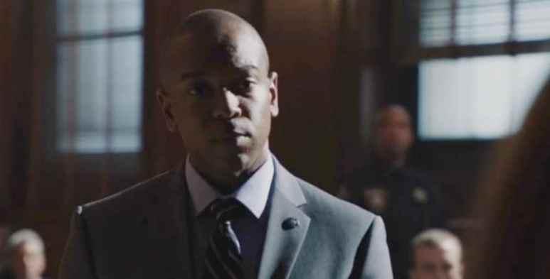 Justin Walker White portrays ADA Richardson on Blue Bloods. Pic credit: CBS