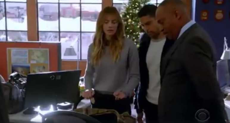 NCIS cast during fall finale of show. Pic credit: CBS