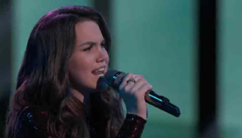 Reagan Strange was saved during the latest episode of The Voice