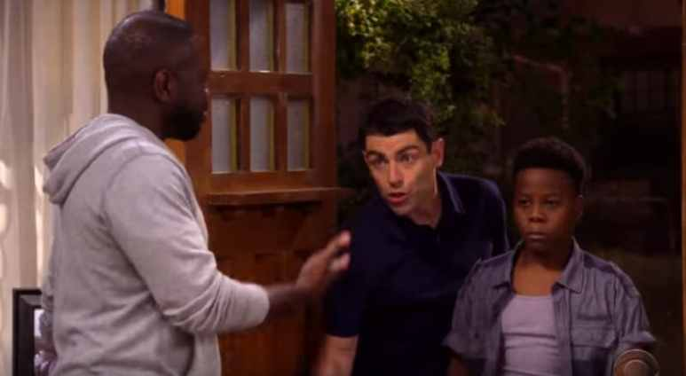 The cast of The Neighborhood during an all-new episode