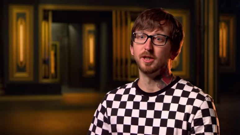 Tiffer Wright in the Ink Master confessional