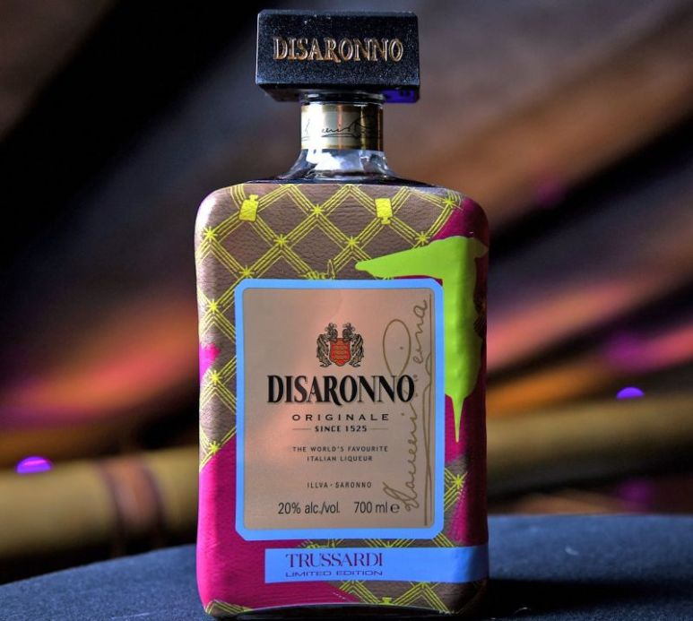 A great gift for a collector, bottle can be refilled. Pic credit: DiSaronno