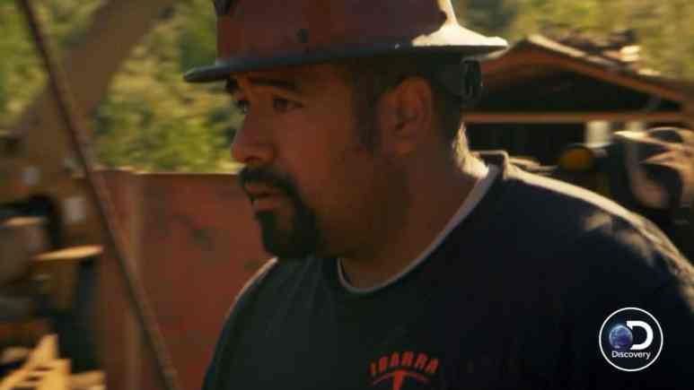 Juan thinks all of this is a bad idea and is nervous. Pic credit: Discovery