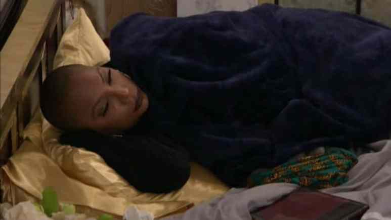 Tamar in the Celebrity Big Brother house