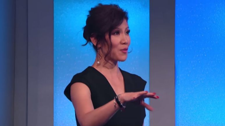 Julie Chen at the first season finale of Celebrity Big Brother