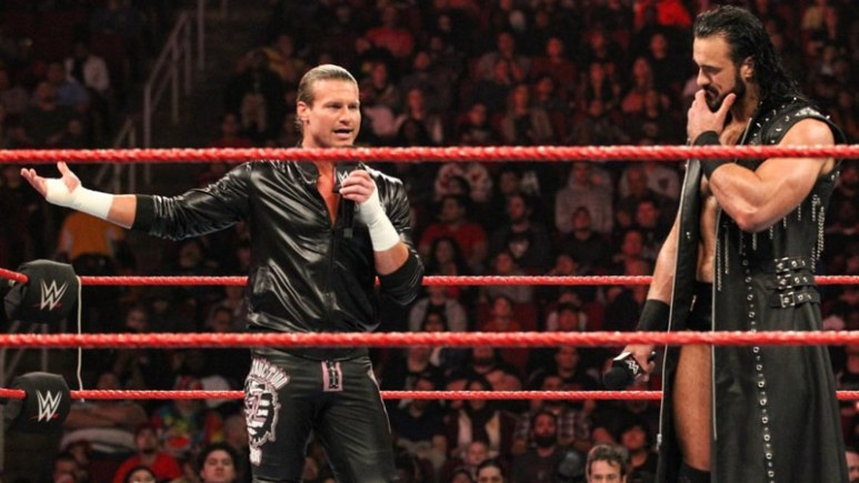 Dolph Ziggler gives WWE status