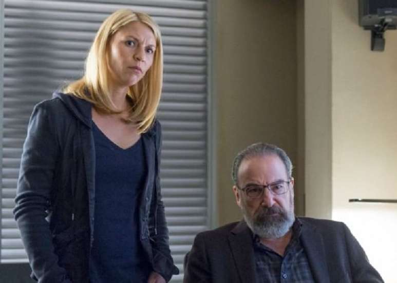 Homeland. Claire Danes and Mandy Patinkin