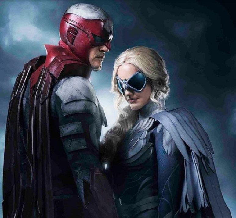 Titans Hawk and Dove