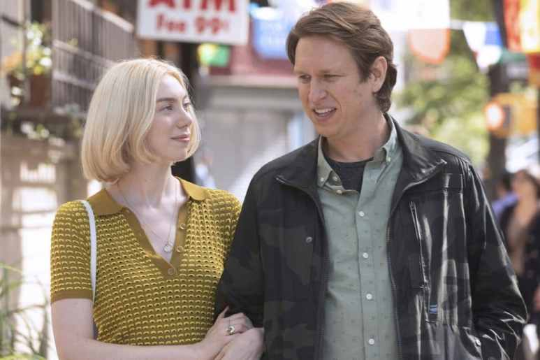 Madeline Wise and Pete Holmes in Crashing on HBO