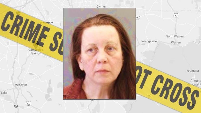 Joann Curley in a prison photo.