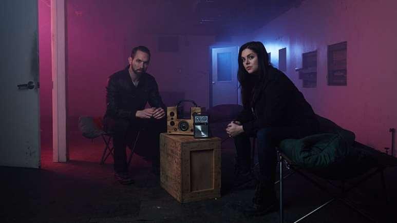 Nick Groff and Katrina Weidman of Paranormal Lockdown