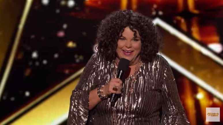 Vicki Barbolak on America's Got Talent: Champions
