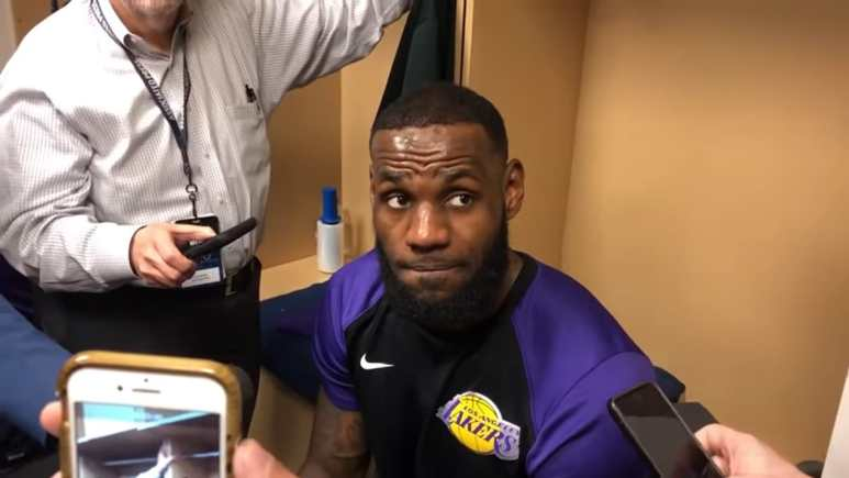 LeBron drops a truth bomb on Lakers perceived distractions