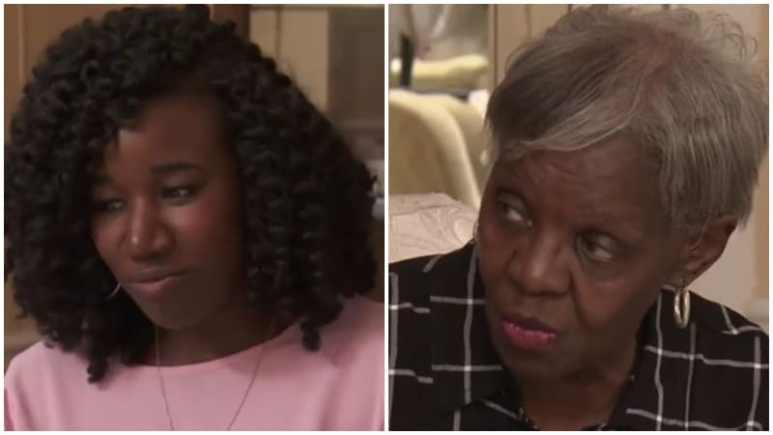 Jasmine McGriff gets advice from her mom on Married at First Sight