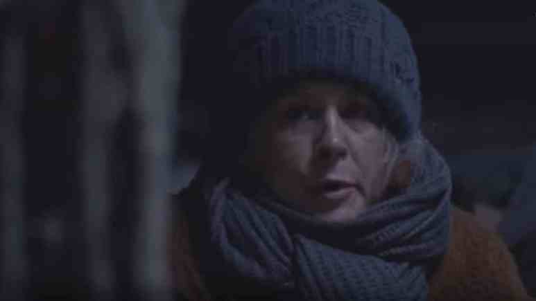 Melissa McBride as Carol on Season 9 finale of The Walking Dead
