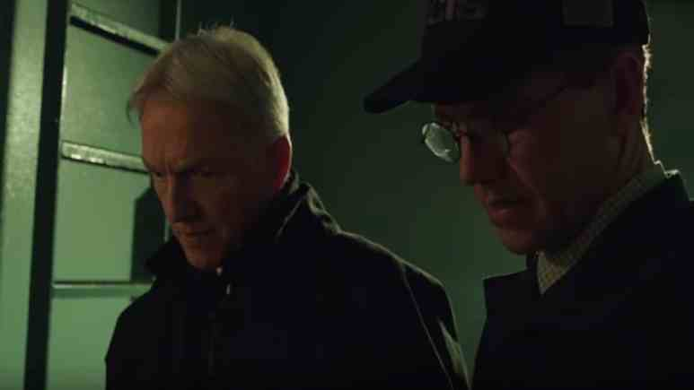 Gibbs and Palmer during Season 16, episode 17 of NCIS