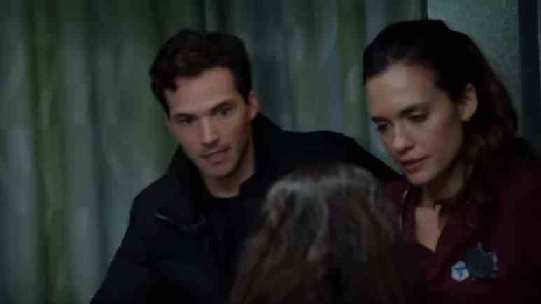 Ian Harding and Torrey DeVitto on Chicago Med cast