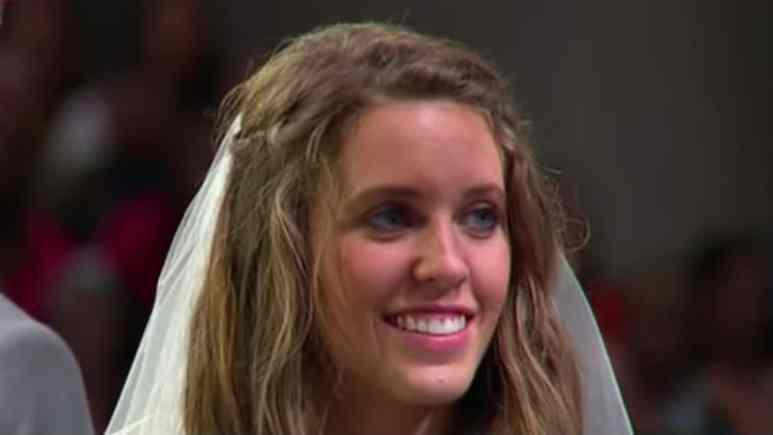 Jill Duggar at her wedding
