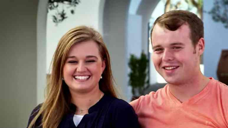 Joseph and Kendra Duggar during a confessional from Counting On