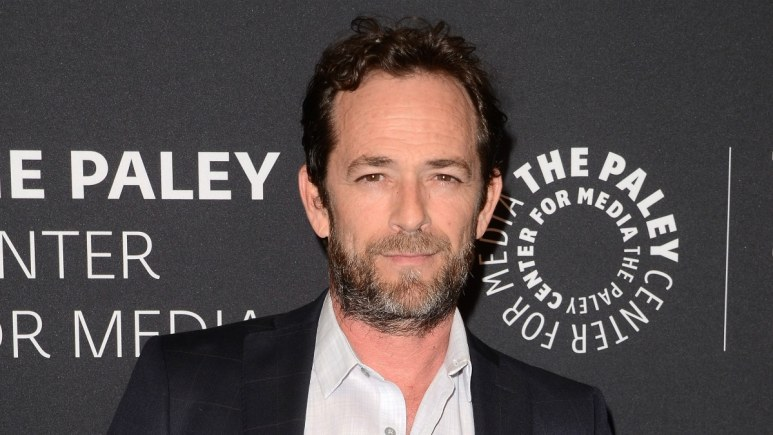 """Luke Perry at the """"Riverdale"""" Screening and Conversation at the Paley Center for Media"""