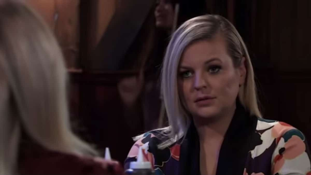Is Maxie on General Hospital pregnant in real life