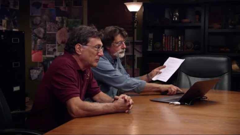 Rick and Marty Lagina on The Curse of Oak Island