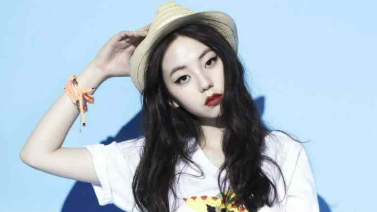 Sohee of Wonder Girls