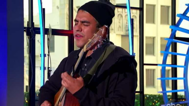 Alejandro Aranda didn't learn guitar or piano until he was an adult