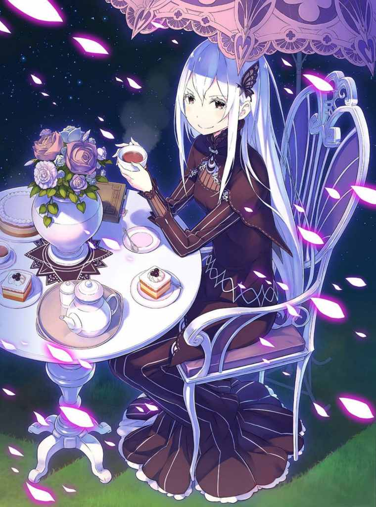 re Zero Echidna Witch Of Greed
