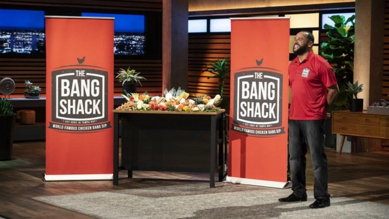 Jason Hadley pitches The Bang Shack on Shark Tank