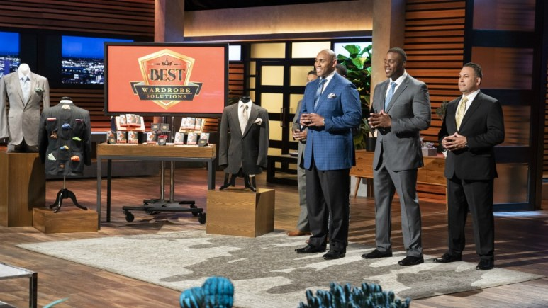 Cedric Cobb is presenting Best Wardrobe Solutions on Shark Tank